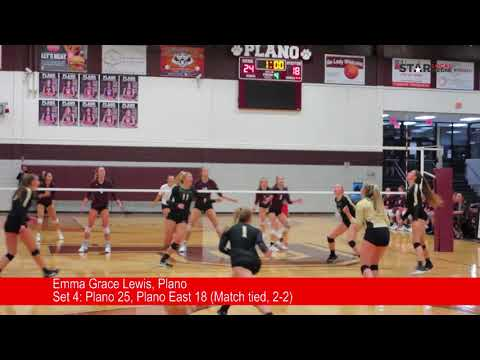 Plano vs Plano East volleyball highlights
