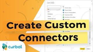 Create custom connectors in Power Bi
