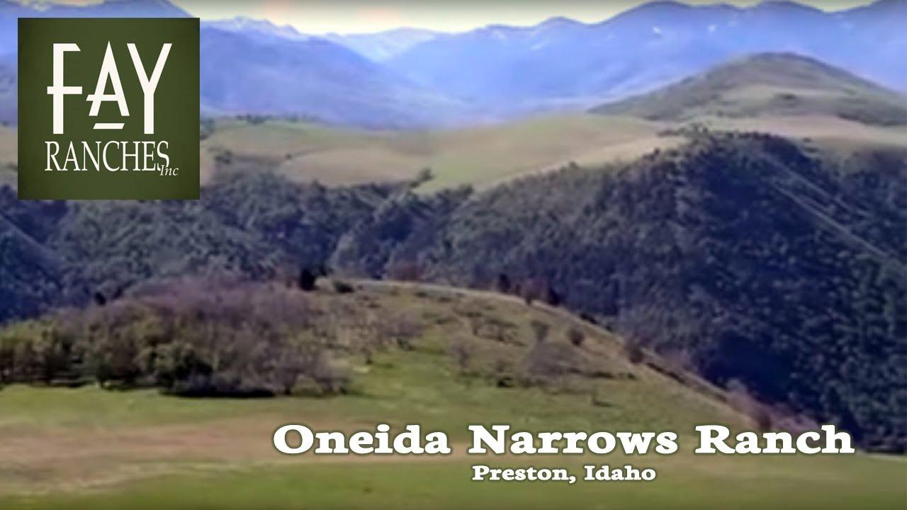 Oneida Narrows Ranch   Preston, Idaho   Fay Ranches