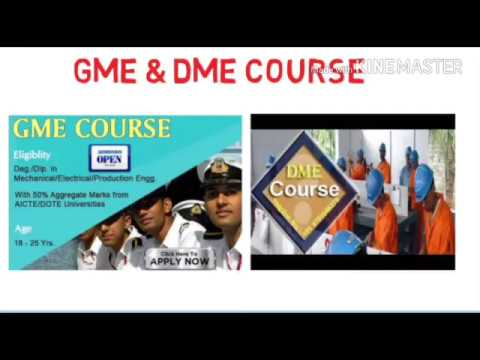 GME and DME Course | Merchant Navy