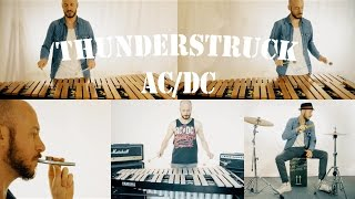 "AC/DC THUNDERSTRUCK CLASSIC PERCUSSION ""KAZOO"" COVER BY ANDREA CETICA"