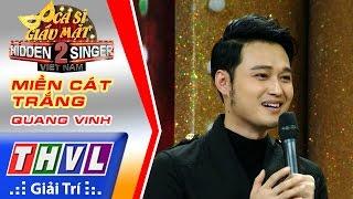 THVL | Ca sĩ giấu mặt 2016 - Tập 7: Quang Vinh | Vòng 1 - Miền cát trắng