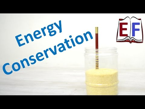 How to verify Conservation of Energy : School Science Project
