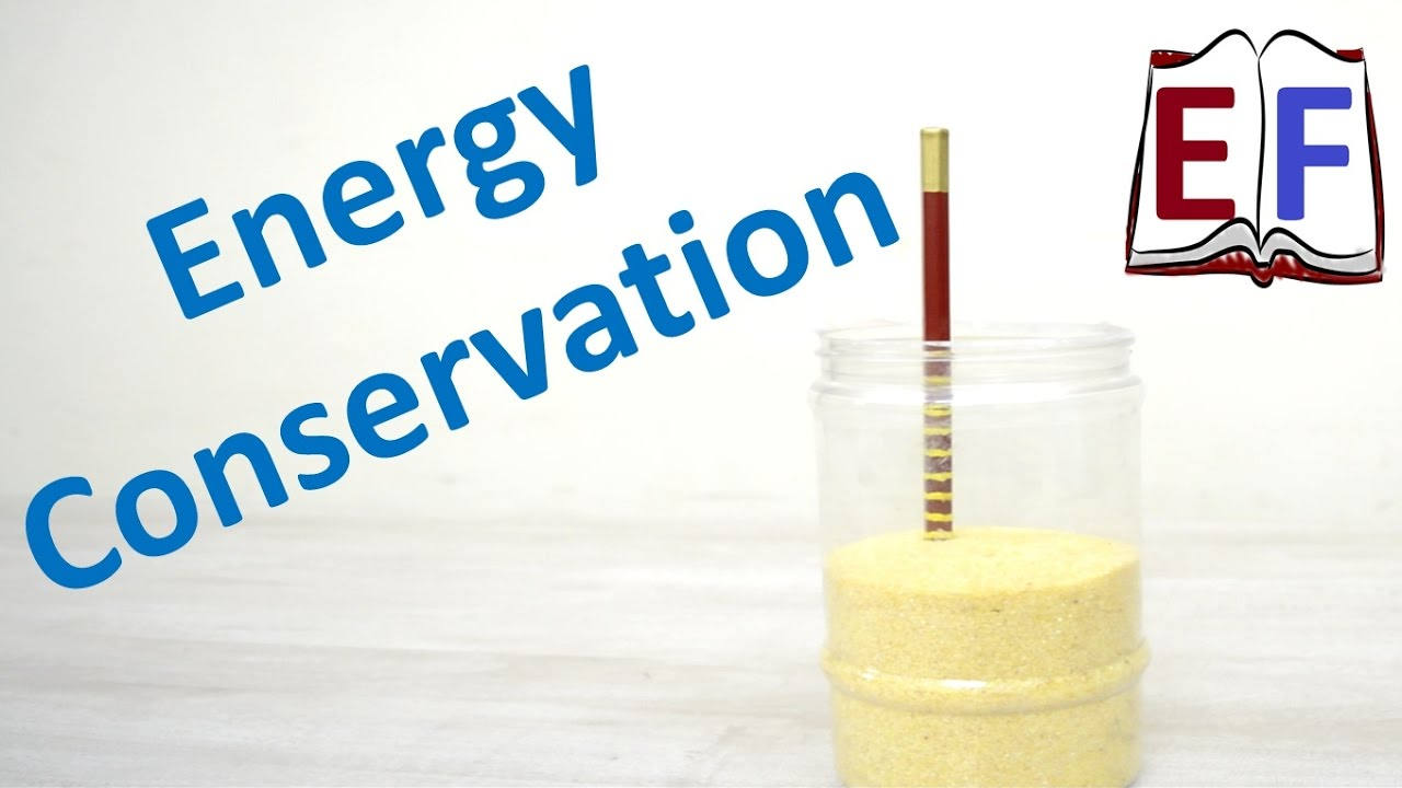 How to verify Conservation of Energy : School Science Project - YouTube