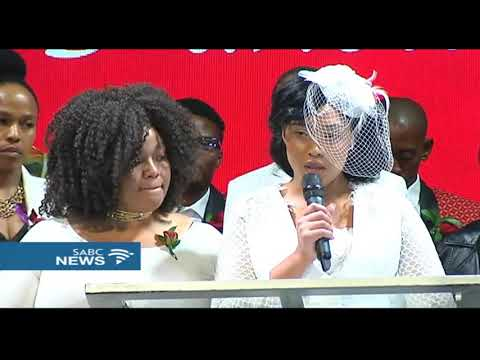 Simz bids final farewell to late husband Dumi Masilela