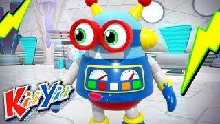 детские песни | Робот Боб | KiiYii | мультфильмы для детей