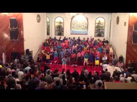 Deitrick Haddon's choir LXW (League of extraordinary worshi
