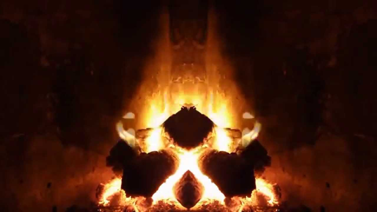 Chimenea de le a fogata para dormir junto al fuego - Chimenea de pared ...