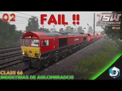 Train Sim World - Great Western Express - Class 66 - Industrias de Conglomerados | Gameplay Español