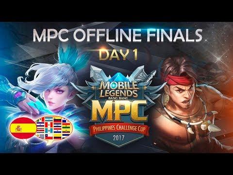 MOBILE LEGENDS: BANG BANG ✪ MPC Finals! DAY 1 COMENTARIOS EN CASTELLANO