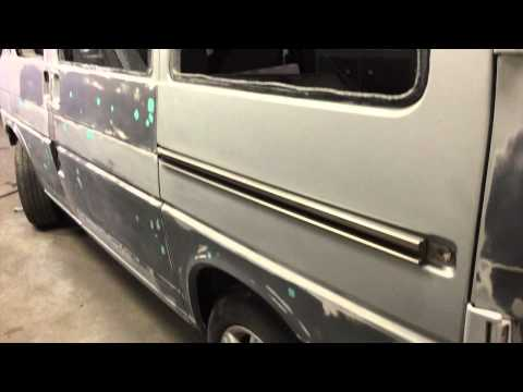 VW Transport  T4 Re Spray & Makeover 2014 Halen the Van