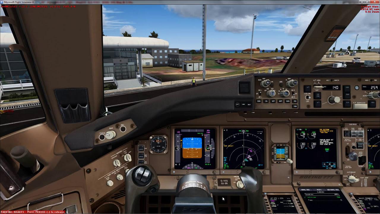 Fsx:Se Pmdg 777 Landing St  Kitts Robert L  Bradshaw Tkpk [Fullhd]   Hardware4you1 19:22 HD