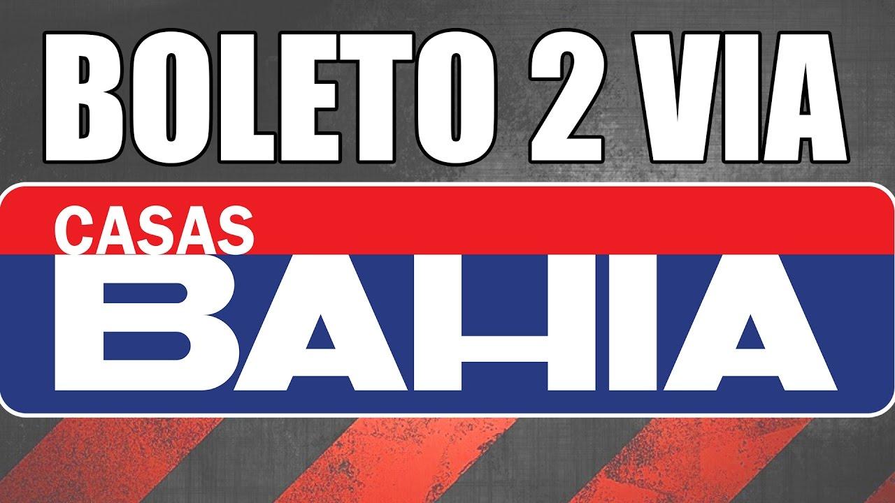 2º Boleto Bradesco Cartoes Casa Bahia Youtube