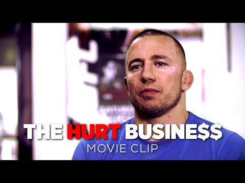 The Hurt Business Movie CLIP | Georges St-Pierre On The Nature Of Fighting