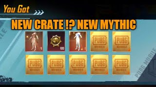 New Supply Crate !? New Mythic !? 🔥 Noble Masquerader Set Opening PUBG KR | Best Luck Crate Opening