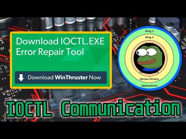Kernel 2 - Usermode Communication - IOCTL Tutorial