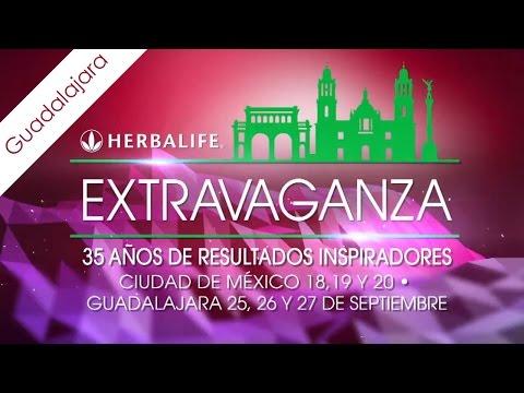 Extravaganza 2015 en Guadalajara HERBALIFE