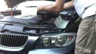 Fitting car eyelashes to a BMW.mp4