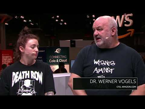 AWS NY Summit - Interview with Dr. Werner Vogels, CTO of Amazon.com