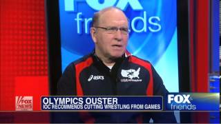 Dan Gable Grapples with Olympics Decision to Drop Wrestling