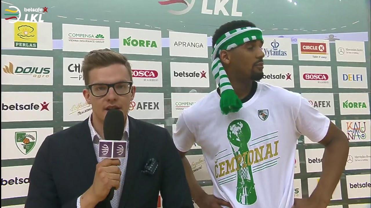 """""""Betsafe–LKL"""" finalo III rungtynės: """"Žalgiris"""" - """"Rytas"""" [2019-06-01]"""