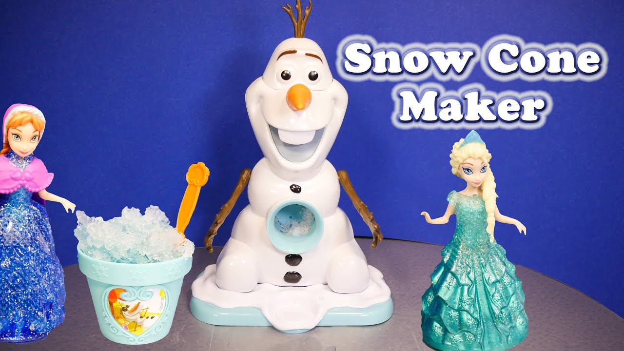 snow cone machine olaf