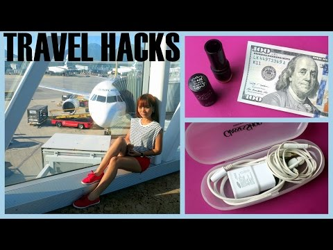 Travel Hacks : Tips and Tricks when Traveling ✈
