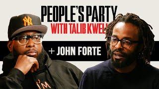 YouTube動画:Talib Kweli & John Forte Talk Fugees, DMX Cypher, Liquid Cocaine Arrest, Jail Time | People's Party