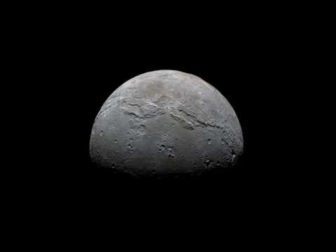 NASA's New Horizons reveals stunning view of a half-phase Charon