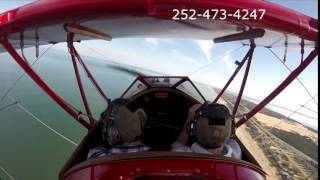 Outer Banks Biplane Air Tour Susan and Dan Thumbnail