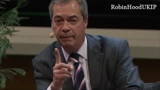 Nigel Farage eviscerates crybaby German media
