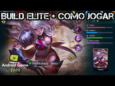 Nightshade - Build Elite + Como Jogar - Heroes Evolved