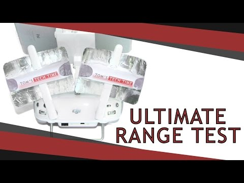 WiFi Booster Range Test | DJI Phantom 3 | Video Review