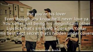 Thundamentals - Brother ft. Matt Corby [Like A Version] [Lyrics]