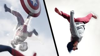 Doing Stunts From Captain America: Civil War (Marvel