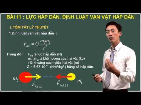 Vật Lý 10 - Lực hấp dẫn - Định luật vạn vật hấp dẫn - Cadasa.vn