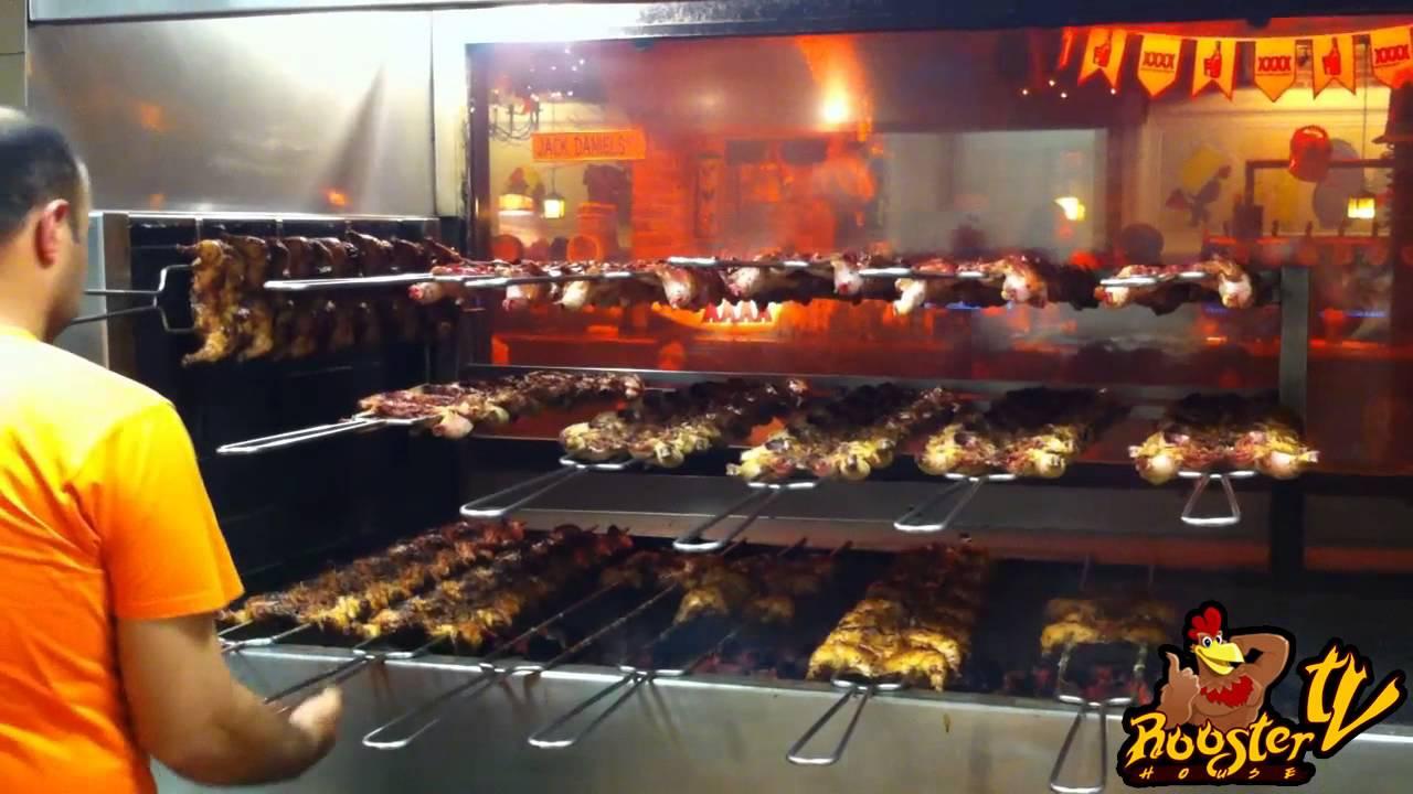il galletto alla brace - youtube - Come Cucinare Il Gallo