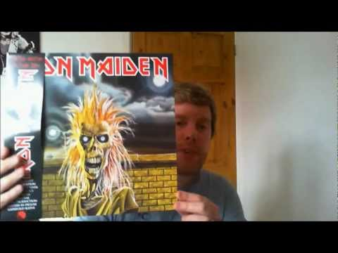 IRON MAIDEN LIMITED EDITION PICTURE DISCS 80-88 PLUS BOX REVIEW!