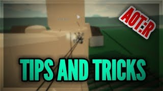TIPS AND TRICKS TO KILLING TITANS AND WINNING GAMES! | Attack on Titans: Revenge | ROBLOX