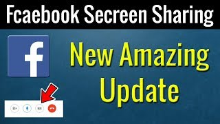 How To Share your Desktop During Facebook Call | Facebook New Amazing Update