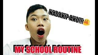 VLOG #2 MY SCHOOL ROUTINE + MY EVERYDAY SCHOOL MAKE UP ROUTINE (sobrang saya)