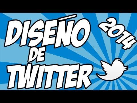 Como descargar plantillas para Twitter 2014