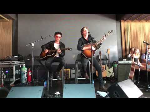 Catfish and the Bottlemen - 101WKQX Chicago Acoustic PopUp Show live at Fremont - Chicago, IL 8/4/18