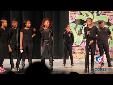 Kelly Miller Middle School performs at 2016 Poetry Slam!