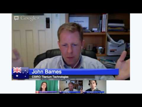 3D Printing Google+ Hangout