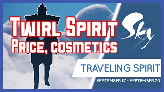 Twirl Travelling Spirit (Tomorrow, 17-20 September) Cost & Cosmetics | Sky : Children of the Light
