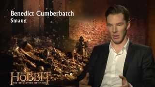 The Hobbit: The Desolation of Smaug - Cast Interviews: Smaug