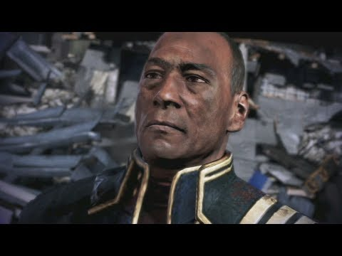 Mass Effect Trilogy: David Anderson All Scenes CompleteME1 ME2 ME3