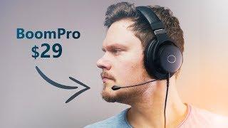 This Gaming Mic Beats All ... V-MODA BoomPro