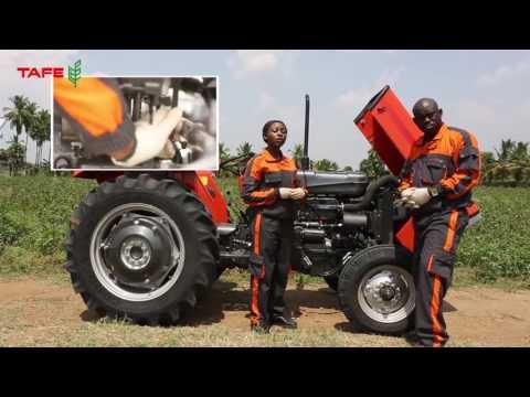 TAFE Tractor Installation in Bangla